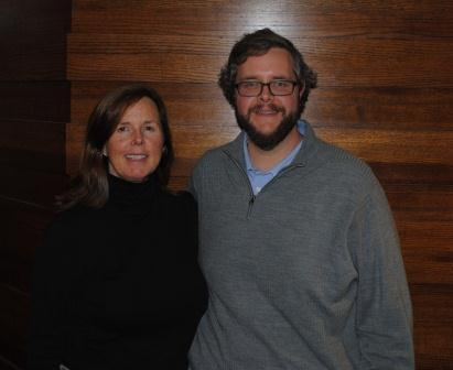 Kathleen Cail and Tim Vogt