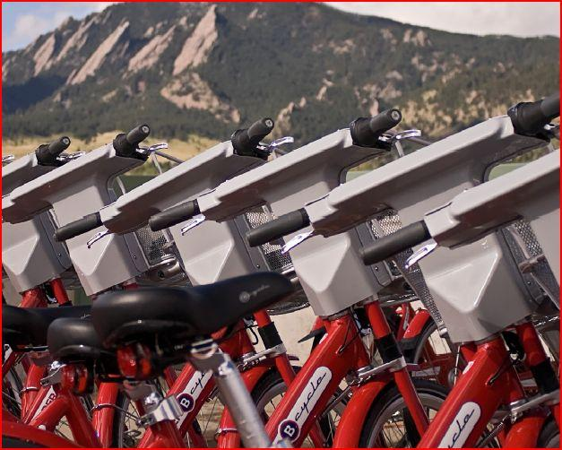 Boulder has 300+ miles of bike lanes, routes, designated shoulders and paths.