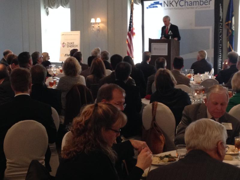 Gov. Steve Beshear spoke to the Northern Kentucky Chamber last Wednesday and the topic of heroin came up.