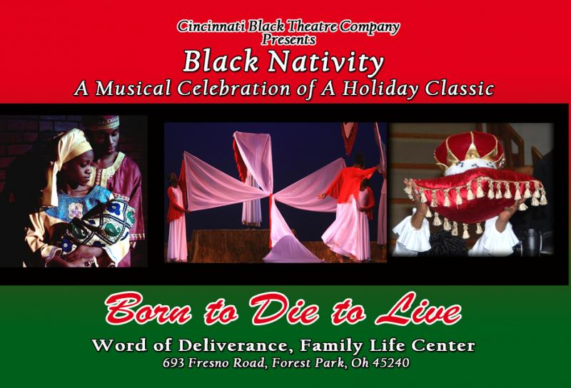 Cincinnati Black Theater Company production of Black Nativity