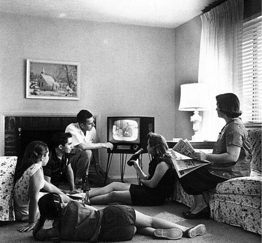 Early days of public television