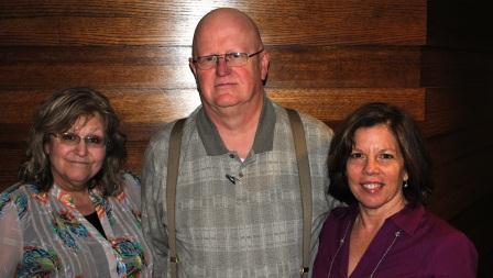 Nan Franks, Steve Durkee and Mary Haag