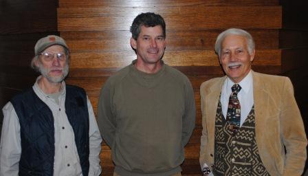 Bernie Moller, Aaron Rourke and Mike Miller