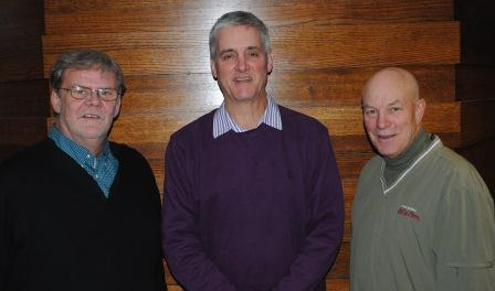 Howard Wilkinson, John Erardi and Greg Rhodes