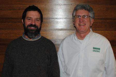Lester Peyton and Bill Creasey from the Cincinnati Nature Center.