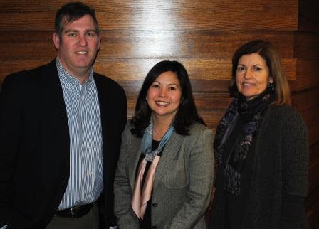 Todd Kinskey, Paula Boggs Muething and Kathy Schwab