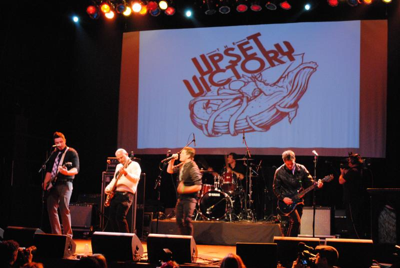 Upset Victory rocked the house