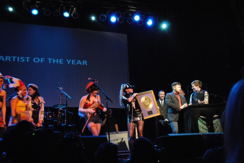 Cincinnati-proud Walk The Moon took home the Artist of the Year award