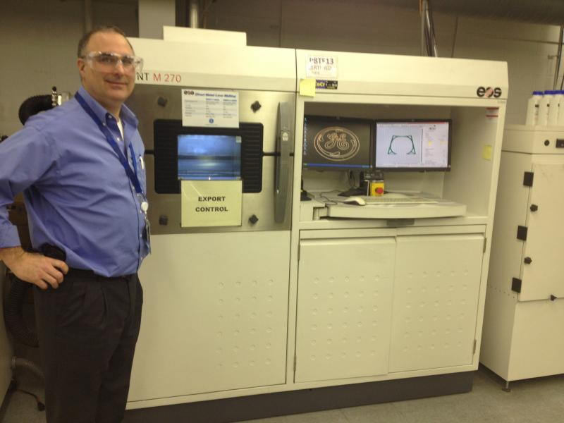 Greg Morris, now a GE employee, started Morris Technologies for engineering design and rapid prototyping.