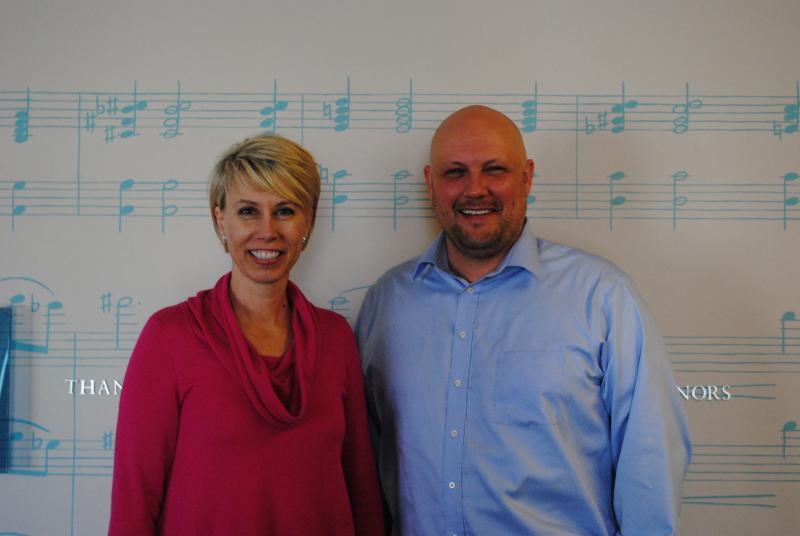 Patricia Nagelkirk and Bill Bresser