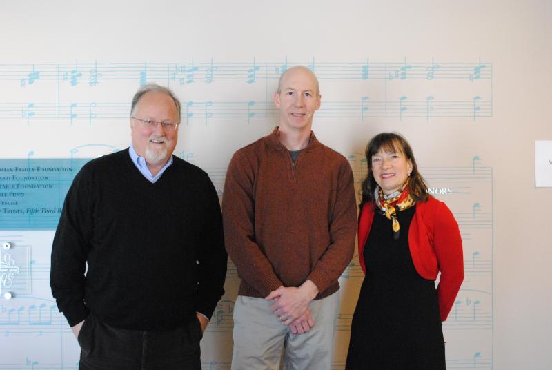 Andrew Benson, Matt Madison and Mary Welsh Schlueter