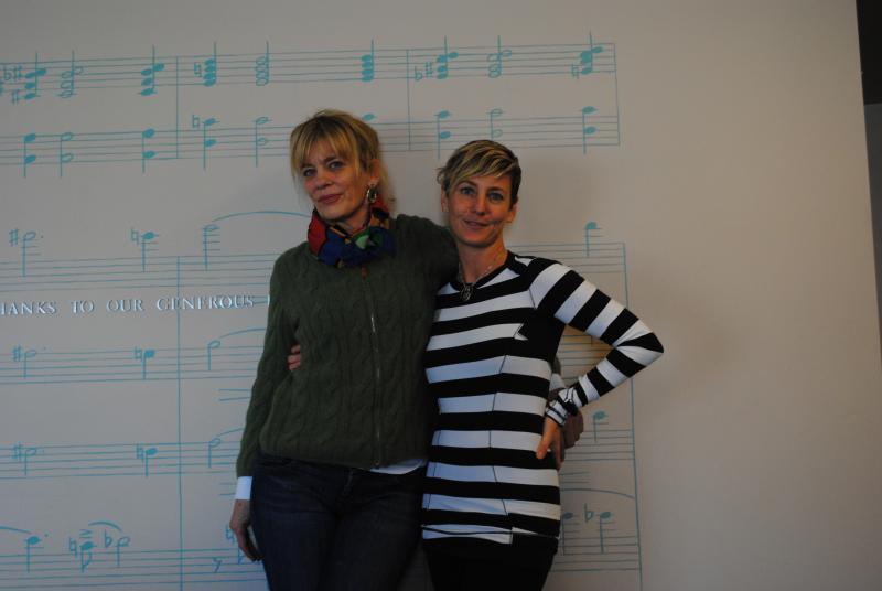 Donna Covrett and Rachel Roberts.