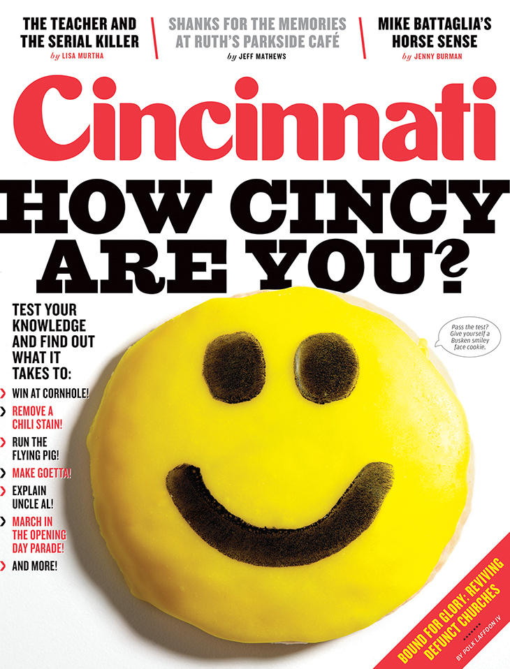 February issue of Cincinnati Magazine