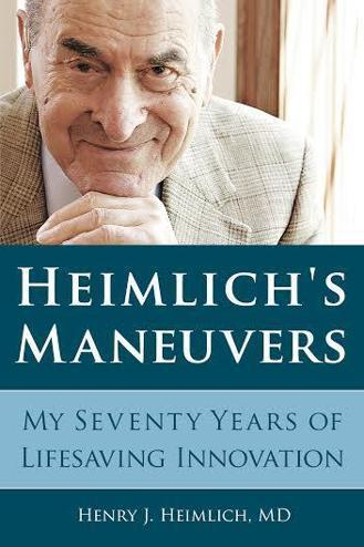 At 94, Dr. Henry Heimlich publishes his autobiography.