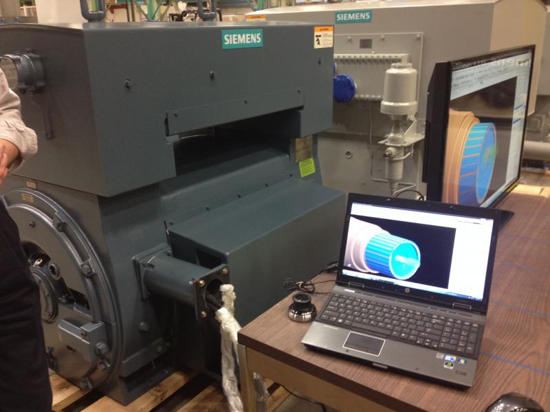 Cincinnati State will now have access to this type of advanced Siemens software to design, simulate and manage products.