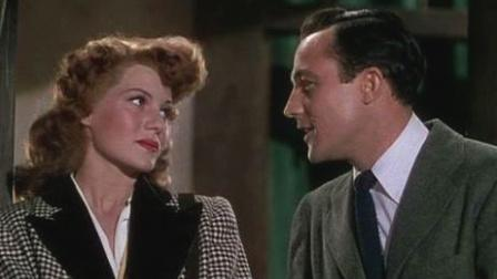 "Rita Hayworth & Gene Kelly in ""Cover Girl"""