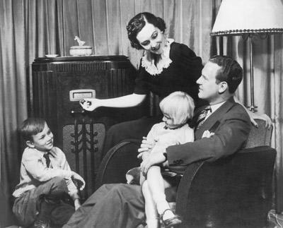 During WWII, radio brought news from around the world into the homes of Americans.