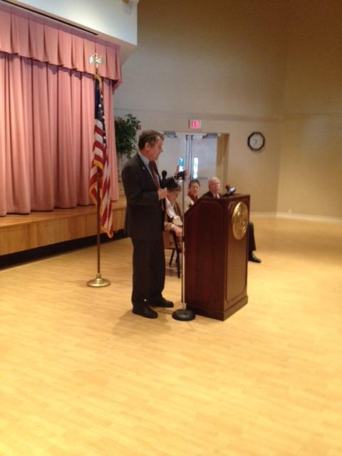 Sen. Sherrod Brown at Maple Knoll Retirement Village