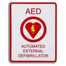 This sign is seen an a lot of places, but would you know how to use an AED if need be?