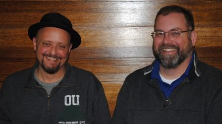 Mike Morgan and Steven Hampton, gearing up for this weekend's Bockfest
