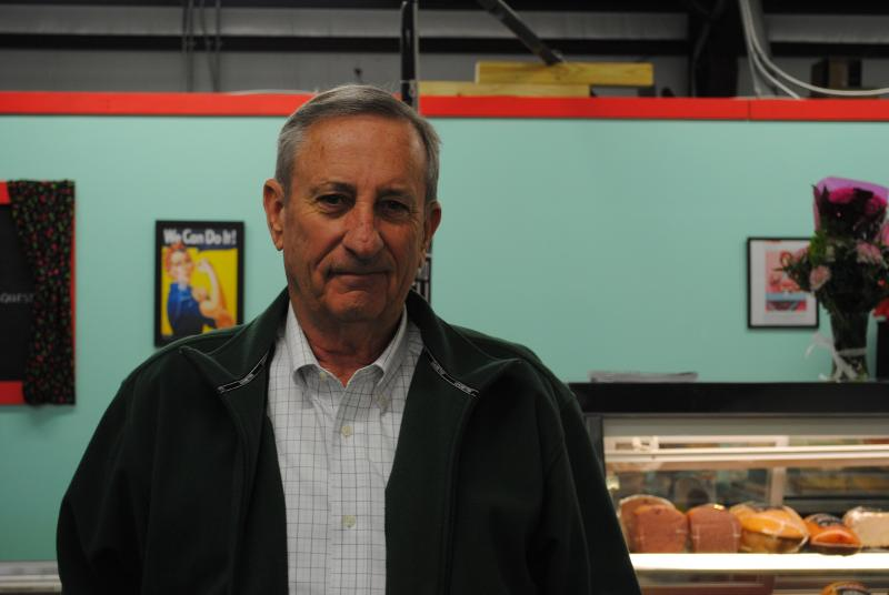 Jack Berberich, owner of Friendly Market