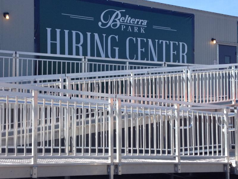 Belterra is accepting applications and scheduling interviews now to hire 700 people.