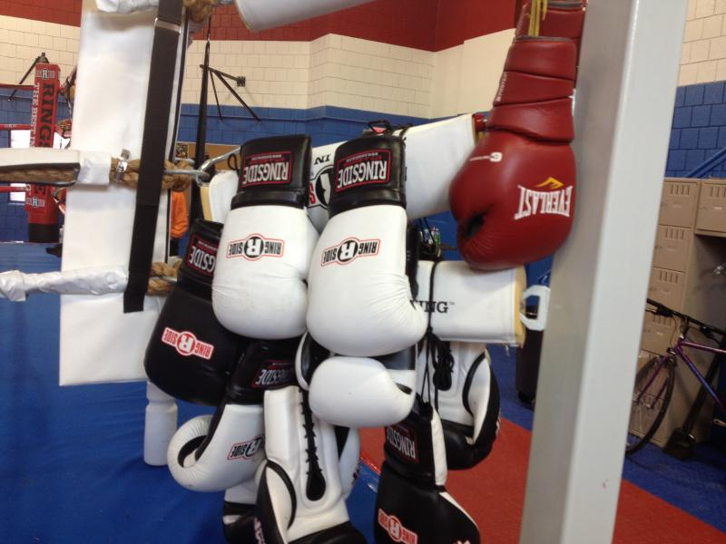 The OTR Boxing Center was converted from an old swimming pool at the OTR Recreation Center.