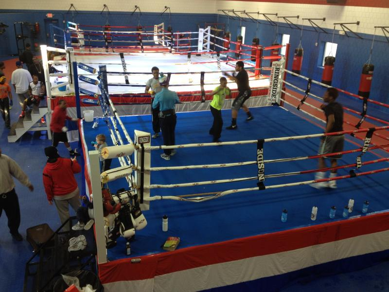 The OTR Boxing Center may be the largest boxing facility in the Midwest.