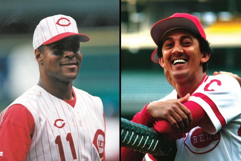 Barry Larkin and David Concepción
