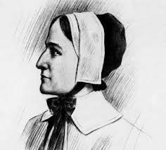 Anne Hutchinson, ancestor of Lee Cole, who traced his lineage with the help of the Public Library Genealogy Deptartment