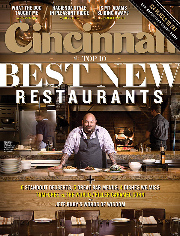 The March issue of Cincinnati Magazine, with the best new restaurant guide.