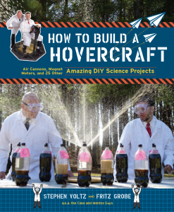 Book shows details on how to do awesome experiments at home, using everyday items.