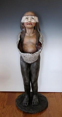 A sculpture by Lyndsey Fryman