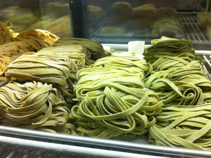 Fresh, hand-made pasta from Friendly Market