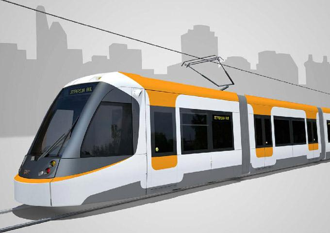 Cincinnati streetcar illustration