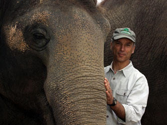 Cincinnati Zoo and Botanical Garden Director Thane Maynard.