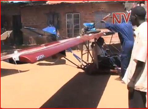 With a goal of building a space rocket, Uganda now is working on a single-seater plane.