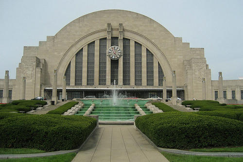 Union Terminal and its Moderne Art Deco architecture