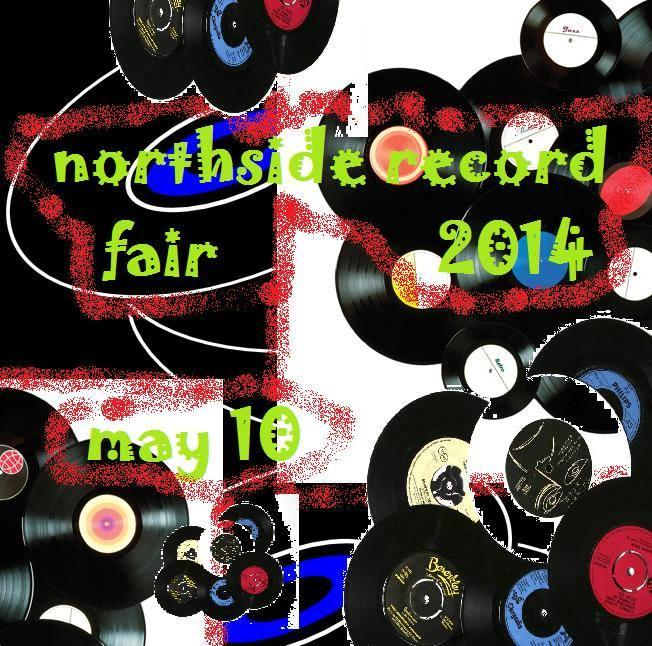 The Northside Record Fair runs from 11am to 4pm at Northside Presbyterian Church (4222 Hamilton Avenue).  Admission is $5, or early-bird admission is $10.