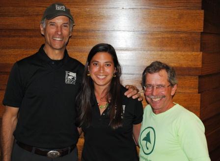 Thane Maynard, Sofia Cifuentes and Brewster Rhoads