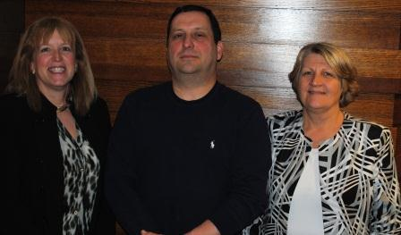 Ethel Cogen, Dave Bailey and Linda Holterhoff