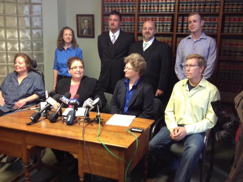 Six same-sex couples are suing for the right to get married in Ohio. Here are some of the couples and their two attorneys.