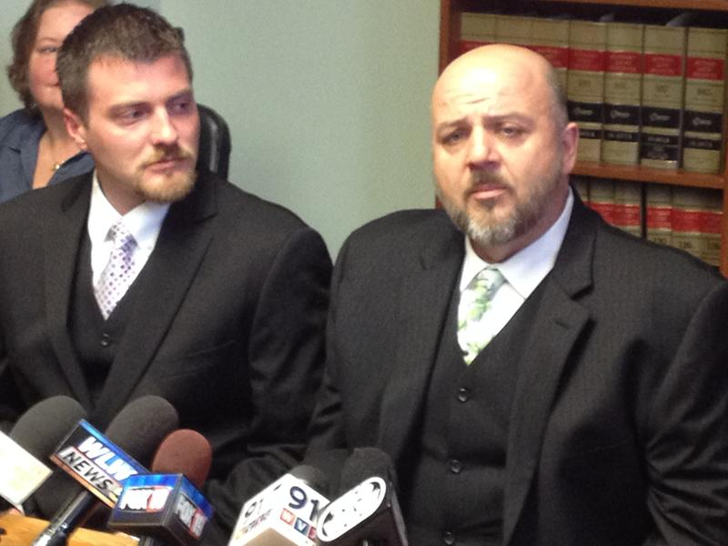 Karl Rece, Jr. and his partner Gary Goodman want to get married at Christmas, but admit because of expected legal challenges that may not happen.