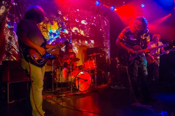 To help fill out their sound, Buffalo Killers recently added Sven Kahns [far-right] on guitar and lap-steel