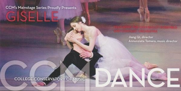 "CCM Dance's current production of ""Giselle"" is at the Corbett Auditorium."