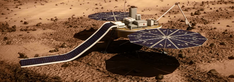 In the next five to ten years Mars One hopes to establish a colony on Mars.