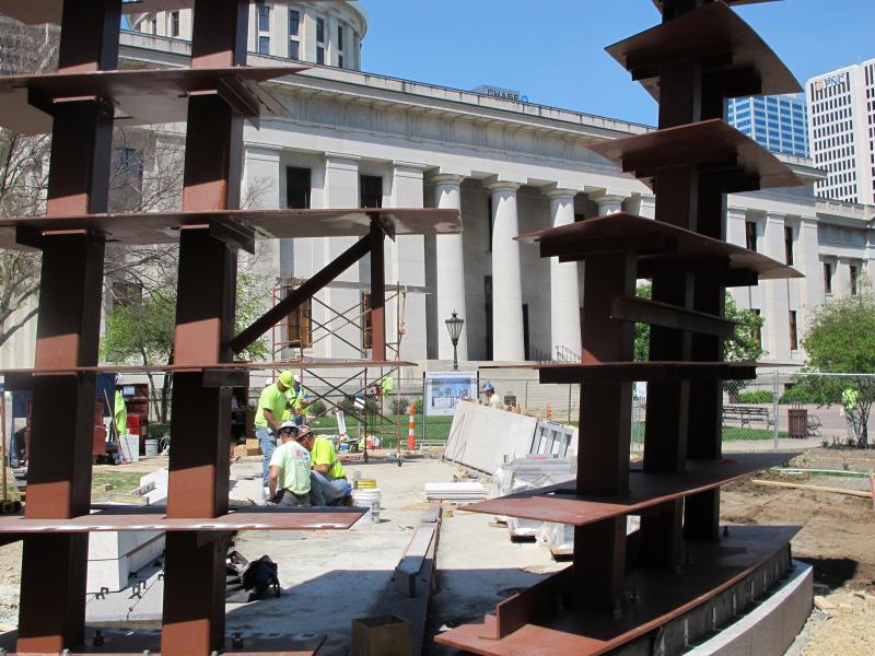 Holocaust and Liberators Memorial in Columbus.