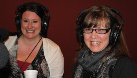 Jen Day and Kat Steele, in the studio talking about the 48 Hour Film Project. Daniel Perrea joined us by phone.