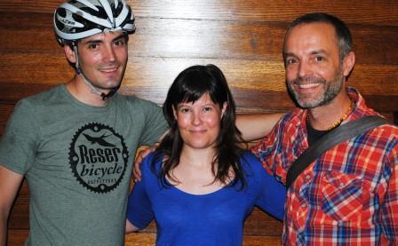 Jason Reser, Melissa McVay and Dan Korman