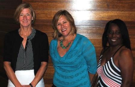 Moira Weir, Jami Clarke and Renee Winbush